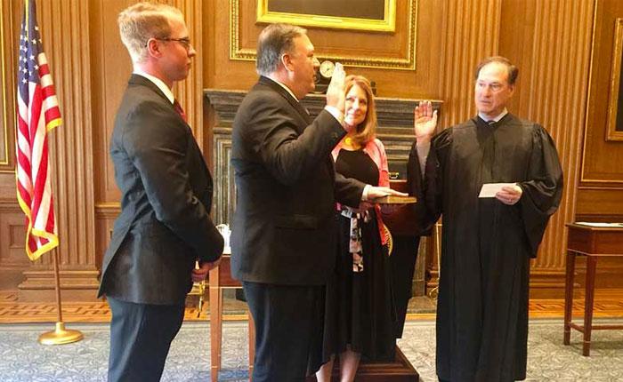 Senado de EEUU confirmó a Mike Pompeo como secretario de Estado