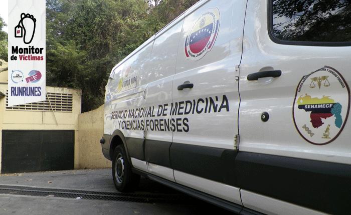 #MonitordeVíctimas | Siete personas han sido asesinadas en La Rinconada en diez meses