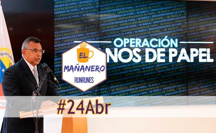 El Mañanero #24Abr: las 8 noticias que debes saber