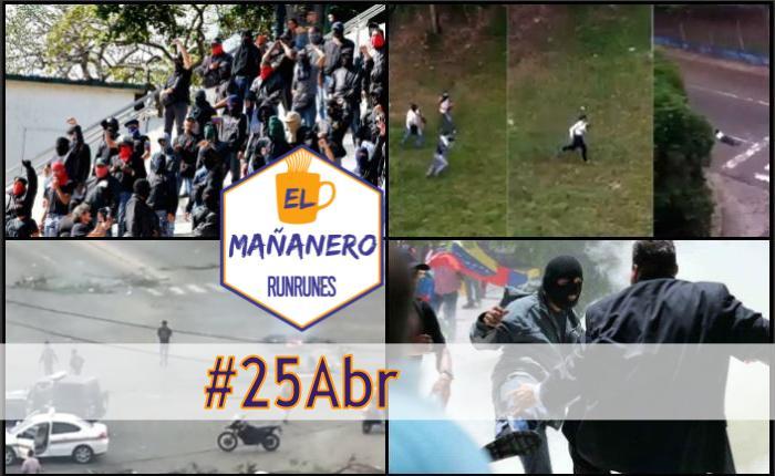 El Mañanero #25Abr: las 6 noticias que debes saber