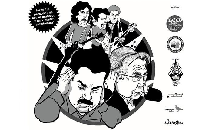 Este domingo #15Abr realizarán concierto de rock en Lima a beneficio de los migrantes venezolanos