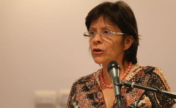 Sandra Oblitas: Aquellos que llamen a la abstención, tendrán responsabilidades legales