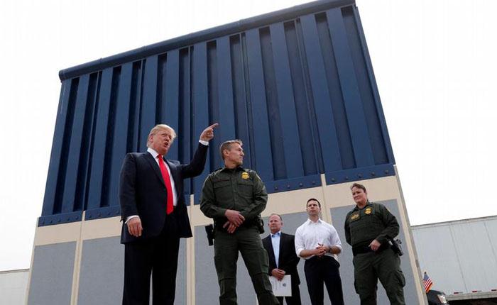 Trump amenaza con eliminar tratados de inmigración y con fin del NAFTA