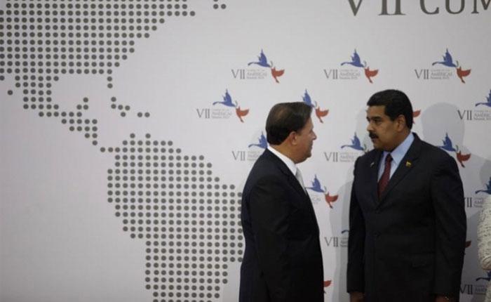 Maduro dice que espera una llamada de Varela para solucionar la crisis bilateral con Panamá