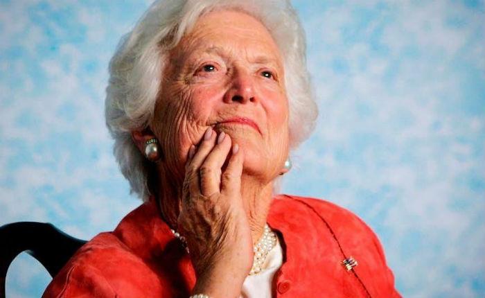 Murió a los 92 años la exprimera dama de EE UU Barbara Bush