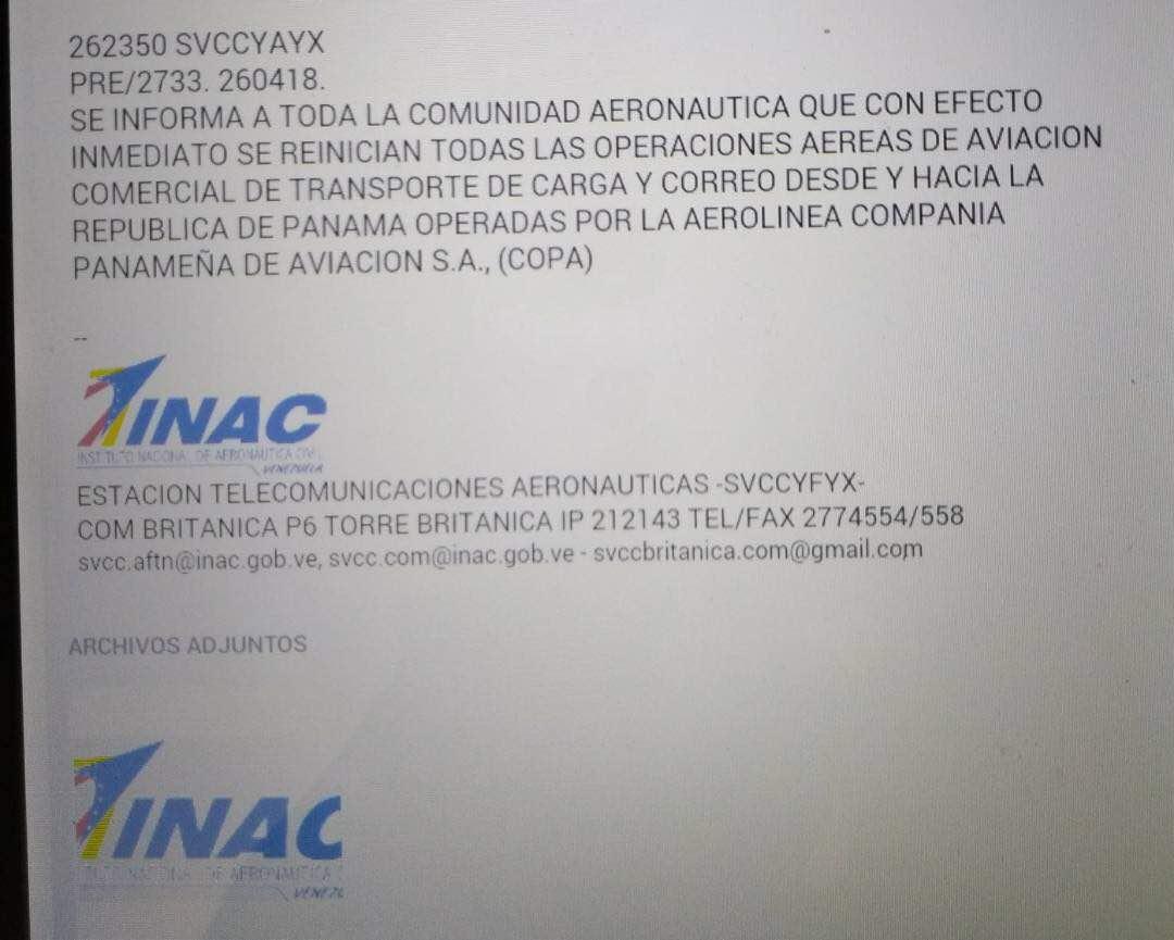 Copa Airlines reanuda operaciones aéreas con Venezuela - RunRun.es