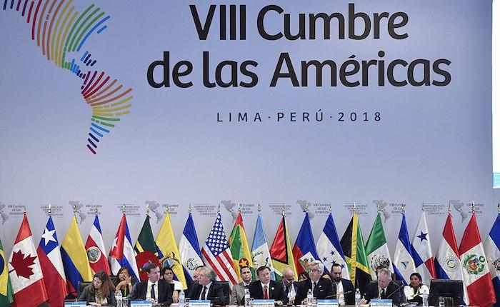 Cumbre de las Américas | Piden elecciones libres, apoyan a la AN y exigen atención a la emergencia humanitaria en Venezuela
