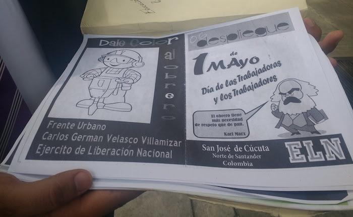ONG denunció adoctrinamiento de niños en la frontera por parte del ELN