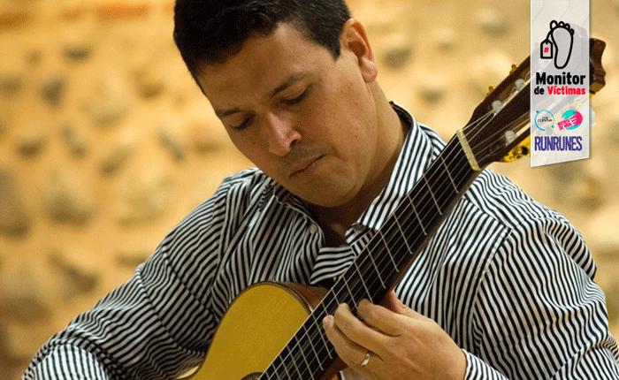 #MonitordeVíctimas | Las balas silenciaron la guitarra de José Luis Lara