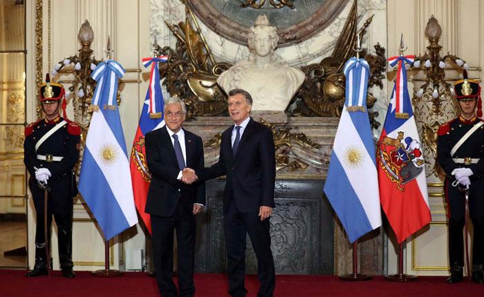 Presidentes de Argentina y Chile piden un gobierno democrático en Venezuela