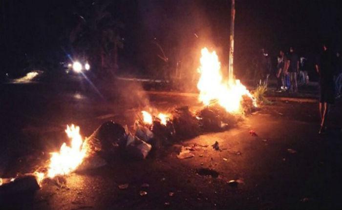 Reportan protestas y saqueos en Maracaibo la noche del #23Abr por apagones
