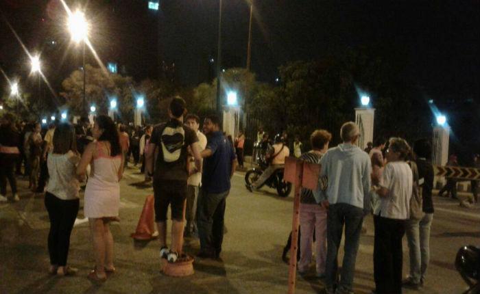 [VIDEO] Protesta por agua llegó a Miraflores