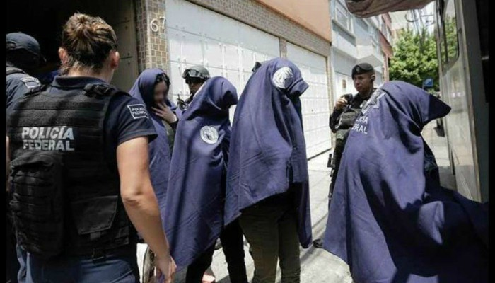 Rescatan a 10 venezolanas víctimas de trata de personas en México