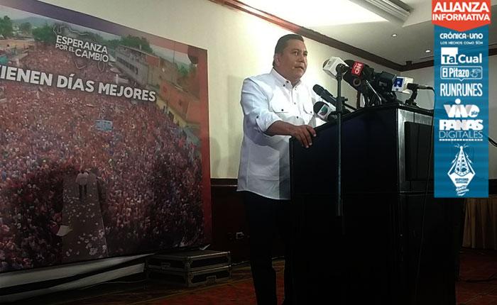 Bertucci admite que participación de votantes en presidenciales no fue la esperada