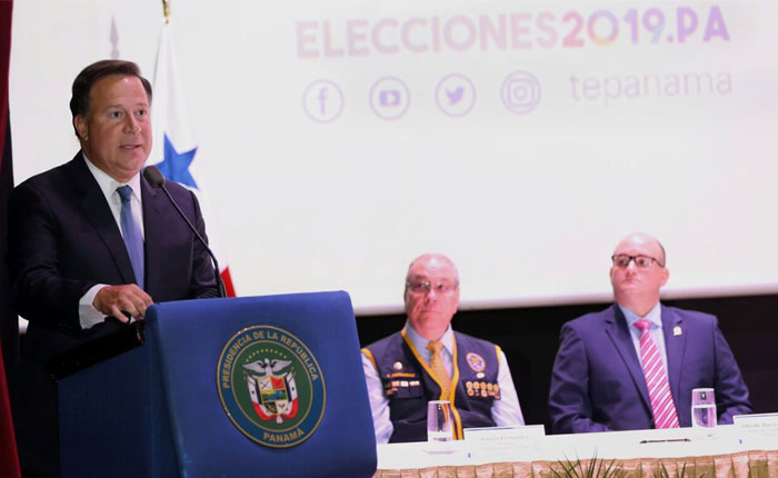 Juan Carlos Varela insiste en que Panamá no reconocerá elecciones del 20 de mayo