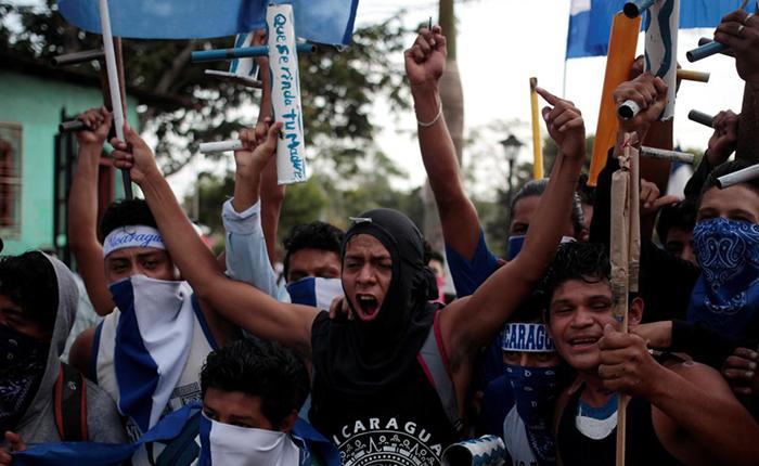 Enfrentamientos durante protestas en Nicaragua dejan varios heridos