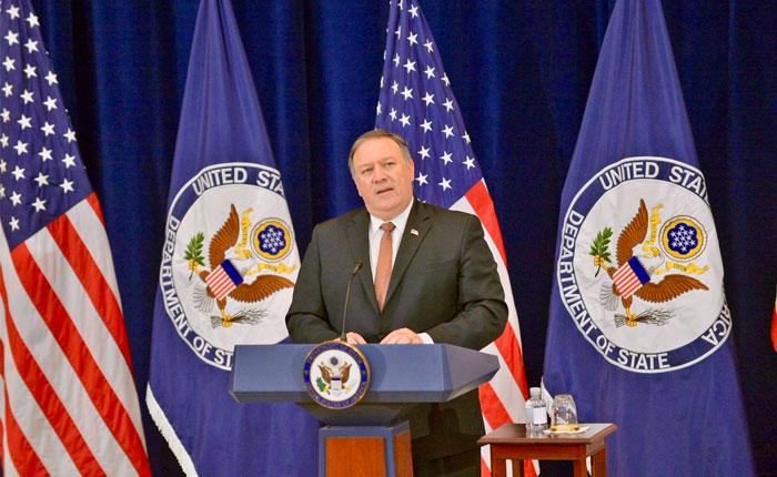 Pompeo intervendrá el lunes ante la Asamblea General de la OEA