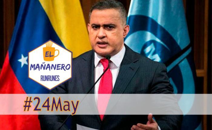 El Mañanero #24May: las 8 noticias que debes saber