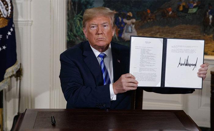 Trump retira a EEUU de histórico acuerdo nuclear con Irán