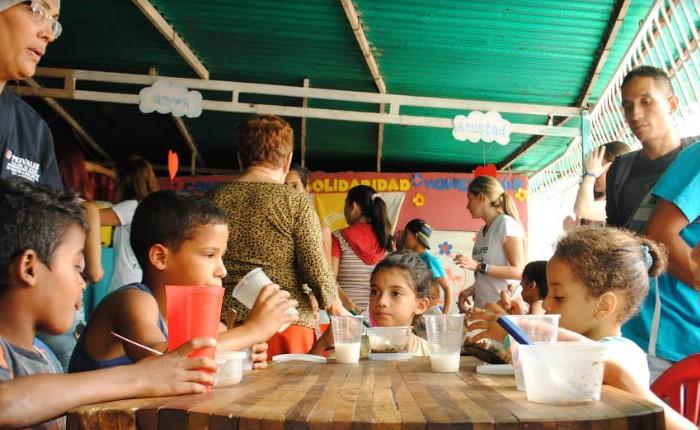 Alimenta la Solidaridad abre su comedor 14 y ya atiende a 1.271 niños de Caracas
