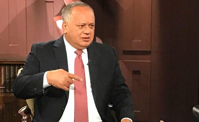 Por narcotráfico, lavado de dinero y corrupción EEUU sanciona a Diosdado Cabello