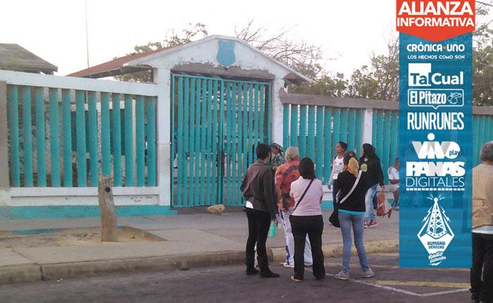 Pocos electores en centros de votación en el interior del país