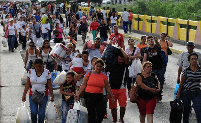 EEUU aumentó ayuda a Colombia para atender a migrantes venezolanos