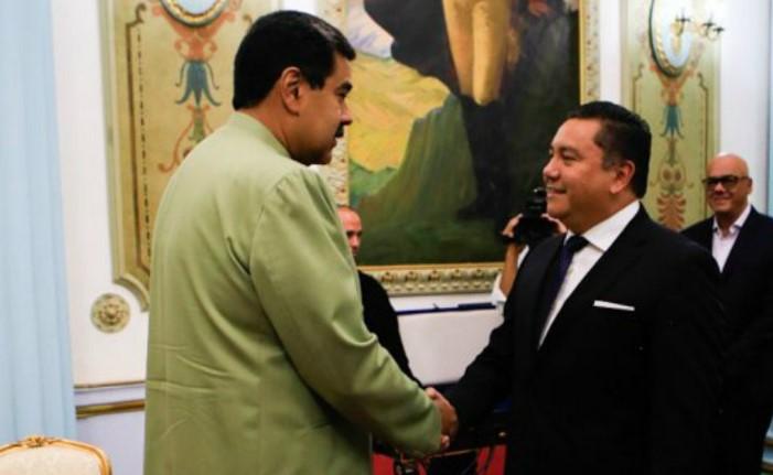Javier Bertucci se reunió con Nicolás Maduro en Miraflores