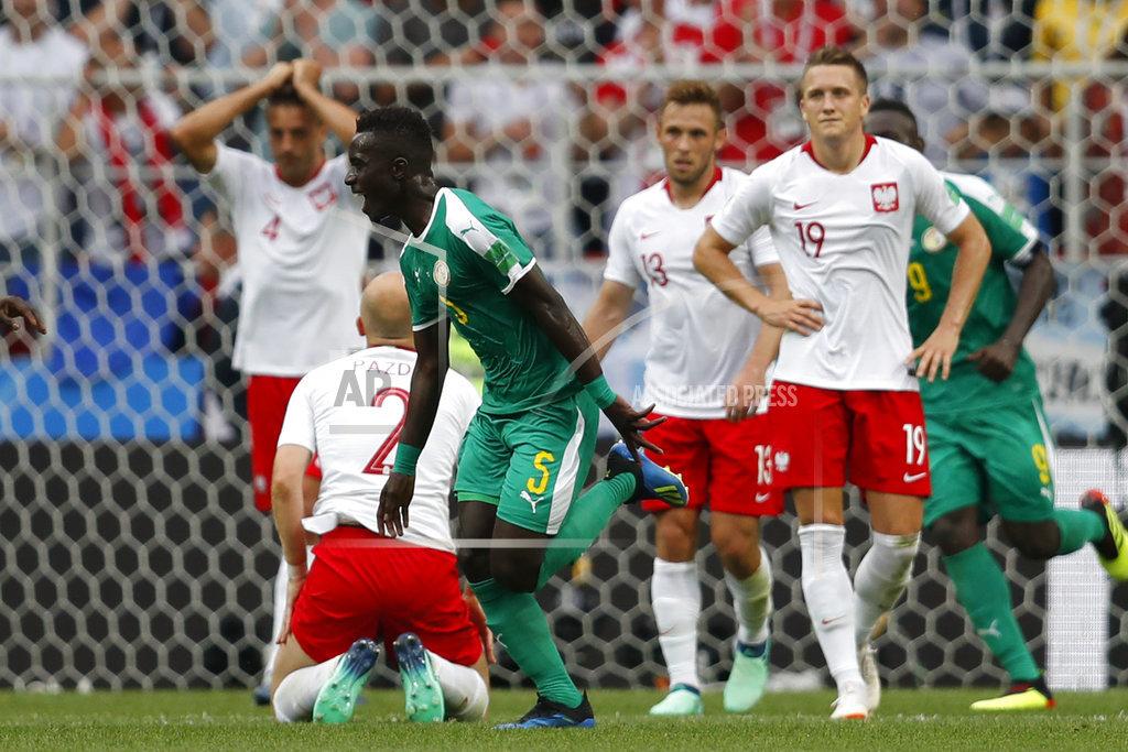 Senegal se convirtió en primera selección africana en ganar en #Rusia2018