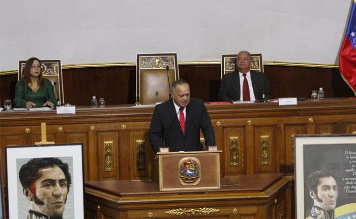 Diosdado Cabello designado como nuevo presidente de la Constituyente