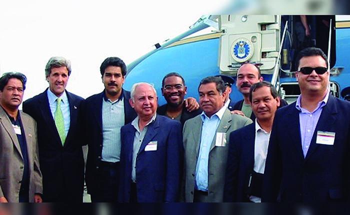 Maduro desempolva el Grupo de Boston para romper el cerco de Trump