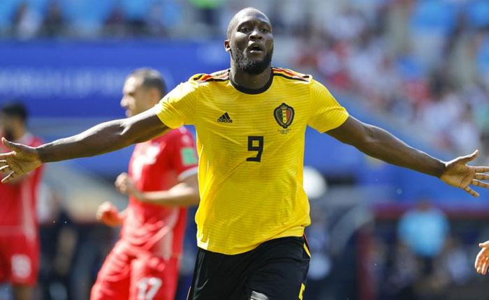 Bélgica golea a Túnez con dobletes de Lukaku y Hazard