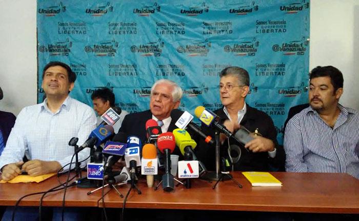 MUD hace énfasis en la ayuda humanitaria ante la comunidad internacional