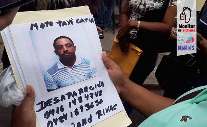 #MonitordeVíctimas | Un mototaxista duró cinco días desaparecido y lo hallaron enterrado en El Junquito