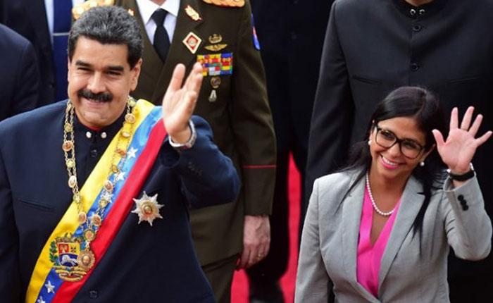 Delcy Rodríguez es nombrada vicepresidenta ejecutiva