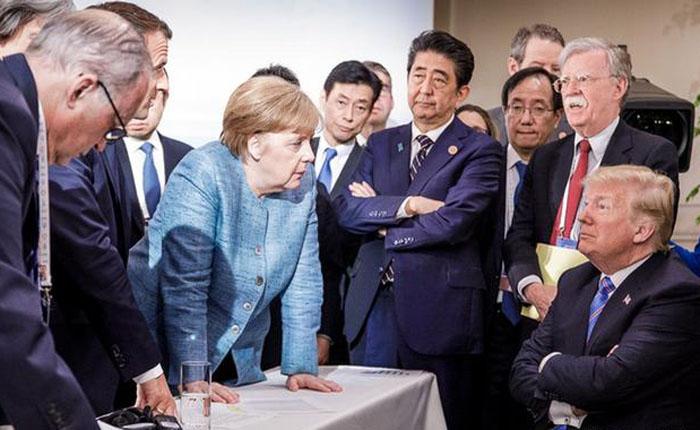 Europa apoya comunicado del G7 tras rechazo de Trump