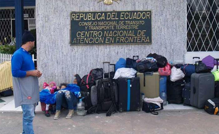 Extienden estado de emergencia en Ecuador por migrantes venezolanos