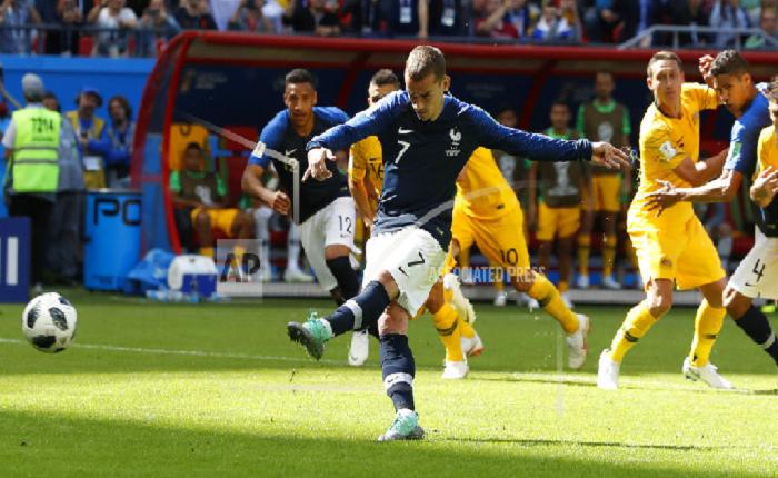 Francia superó a Australia y arrancó el Mundial con victoria 2-1