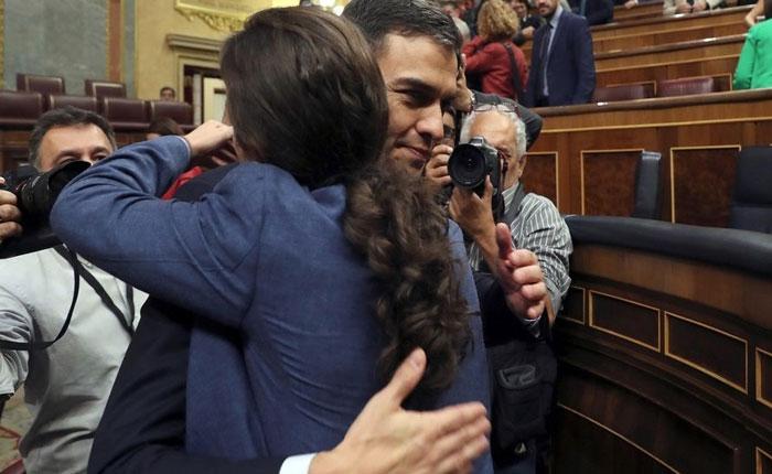Pedro Sánchez, nuevo presidente de España tras destitución de Rajoy