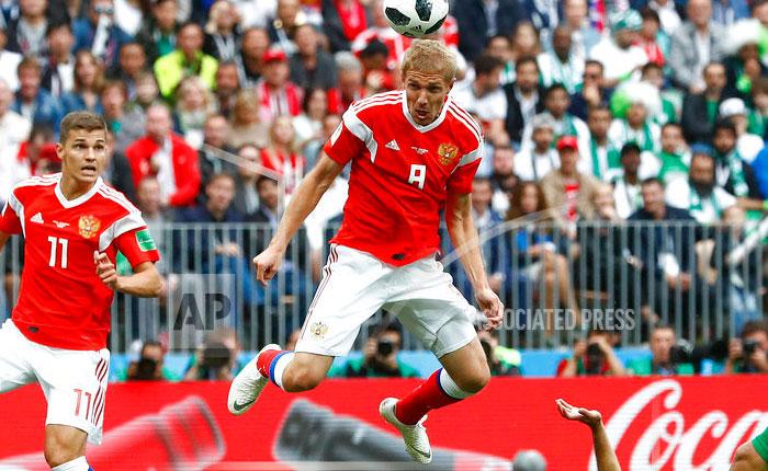 Rusia rebasó los pronósticos y le metió cinco goles a Arabia Saudita
