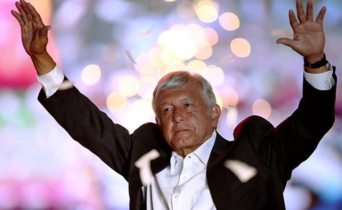 Trump, Maduro, Trudeau y Putin felicitan a López Obrador por su victoria en México
