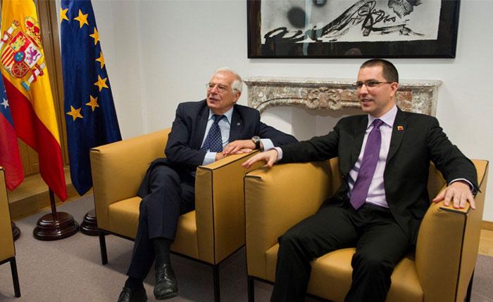 España expresó la preocupación de la UE por situación de Venezuela