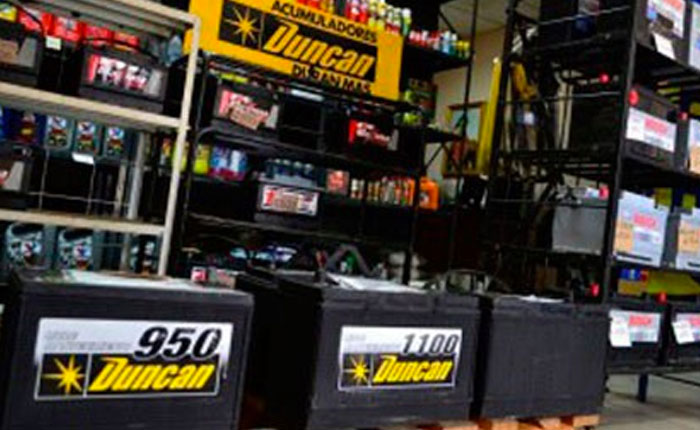 Precios de baterías establecidos por la Sundde obligan a Duncan a vender a pérdida