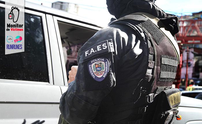 #MonitorDeVíctimas | Asesinan a suegro y yerno en operativo del FAES en Ruiz Pineda