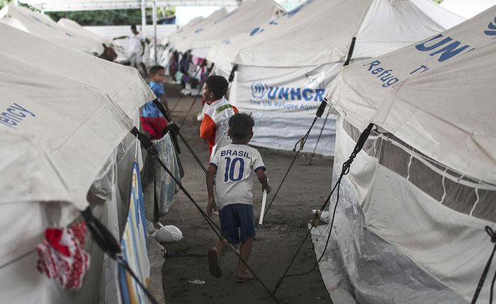 164 inmigrantes venezolanos serán trasladados a tres ciudades de Brasil