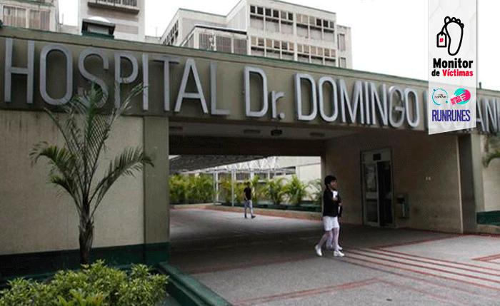 #MonitordeVíctimas | Asesinaron a un joven en plena emergencia del hospital Domingo Luciani