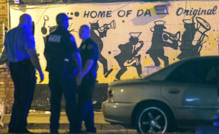 Tres fallecidos y 7 heridos dejó tiroteo en Nueva Orleans