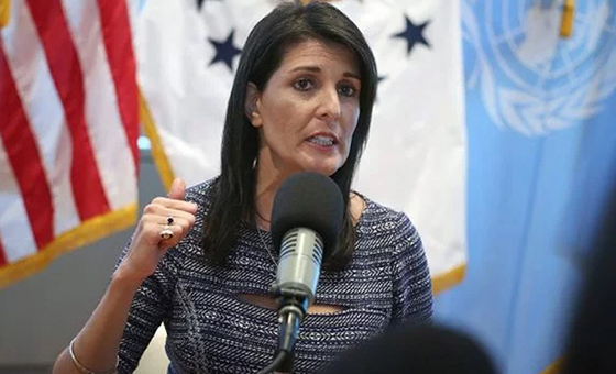 """Nikki Haley dice que Venezuela y Cuba buscan """"socavar"""" gobierno de Honduras"""
