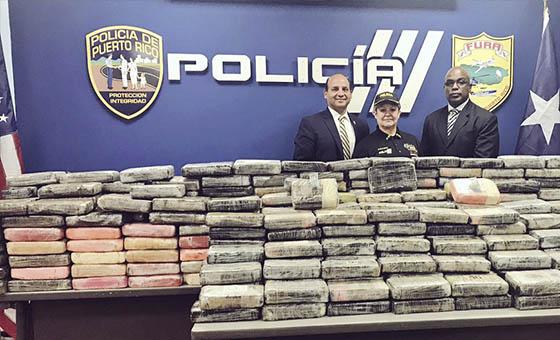 Incautaron en Puerto Rico 533 kilogramos de cocaína proveniente de Venezuela