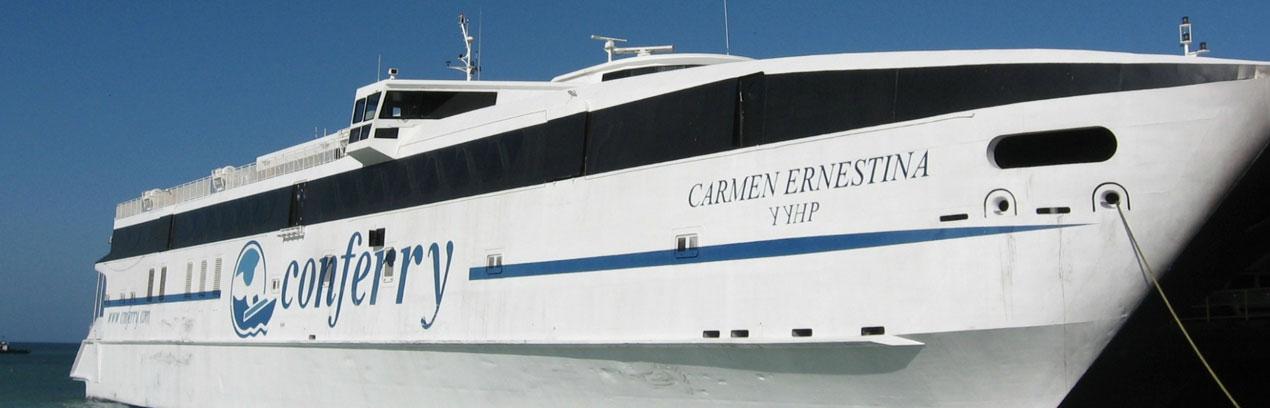 La Nueva Conferry: empresa naviera que tiene cero buques operativos